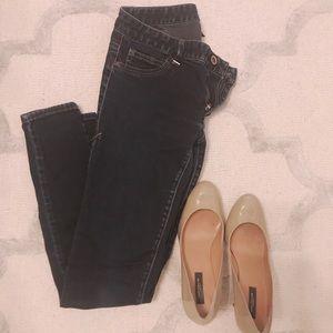 Armani Exchange Ankle Skinny Toothpick Jeans Sz 6